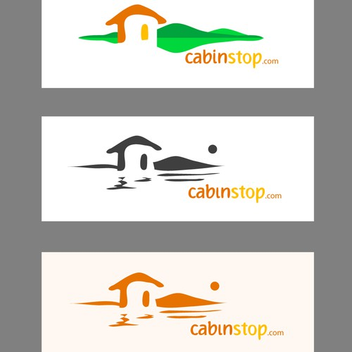 cabinstop logo design