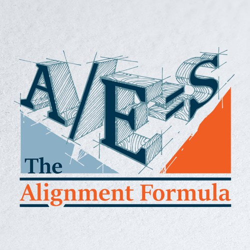 Create an engaging logo that for The Alignment Formula for Mosaic Design Studio