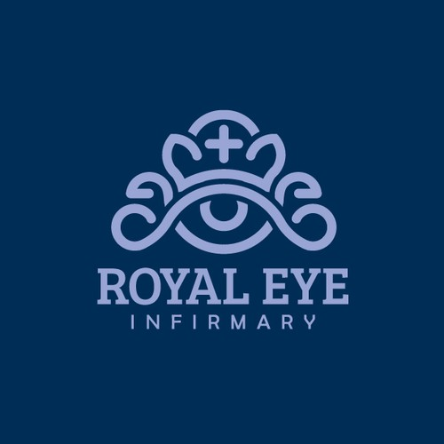 Royal Eye Infirmary logo design
