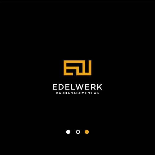Edelwerk logo design