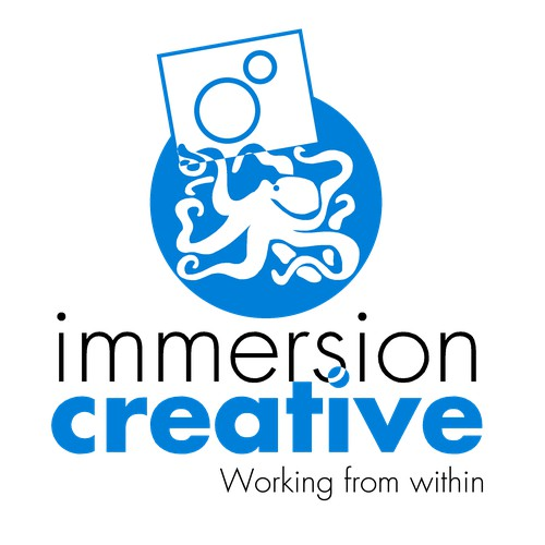 Deep Thoughts Under the Sea: A New Logo for Immersion Creative