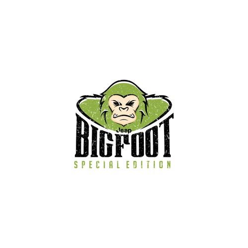logo concept for BIGFOOT