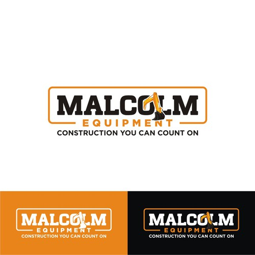 Logo concept for Malcolm Equipment