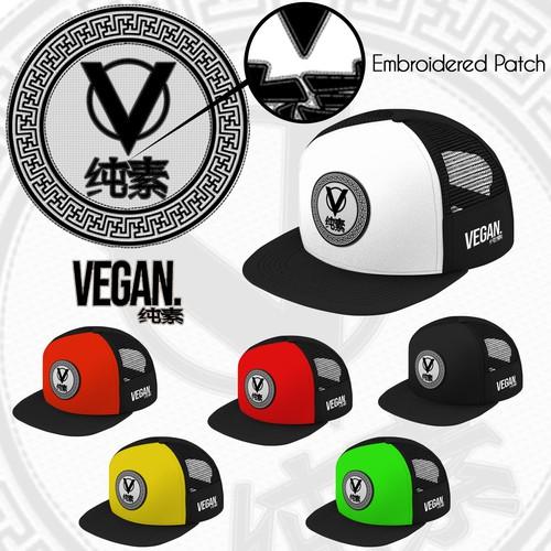 Chinese-American Vegan Cap