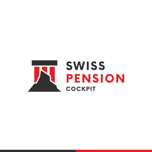 Swiss Pension Cockpit Logo Design