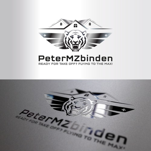 PeterMZ logo Design
