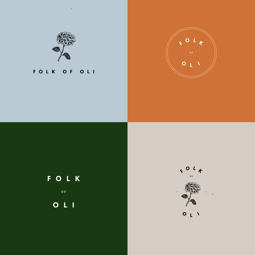 Folk of Oli Logo Design