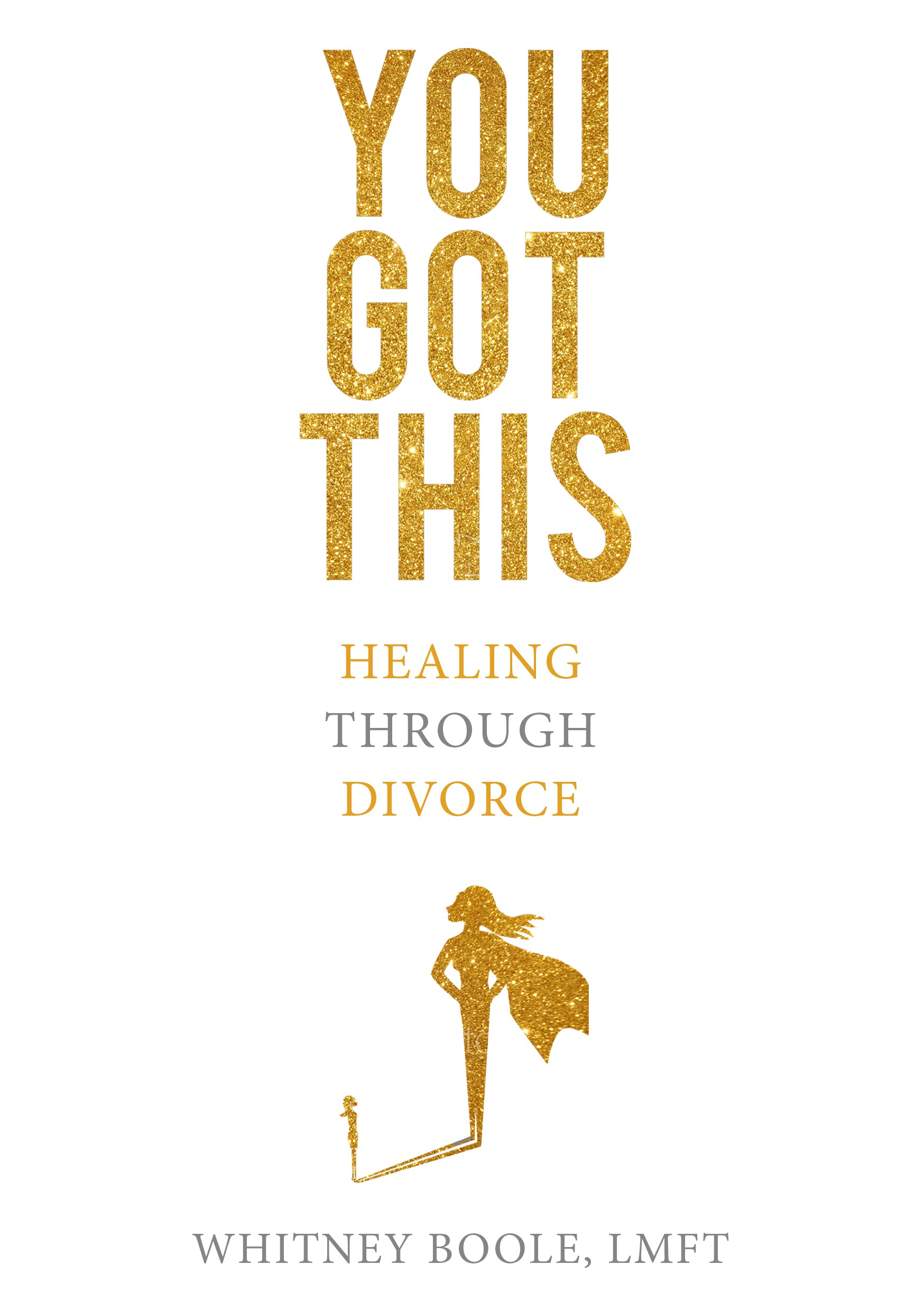 Need a Bestselling Sleek Cover for a book (You Got This: Healing Through Divorce)