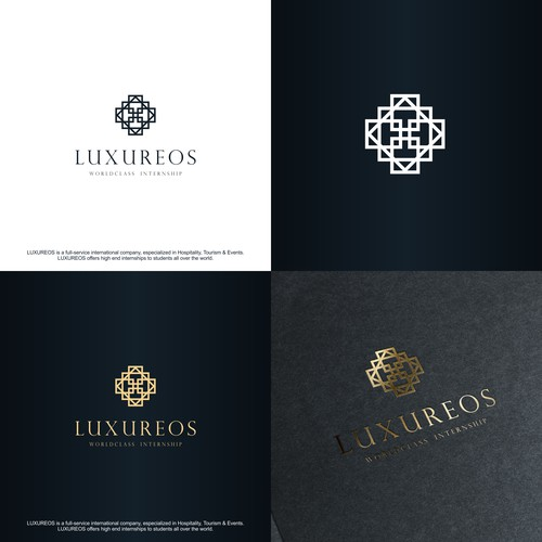 Luxury Tourism Logo Concept