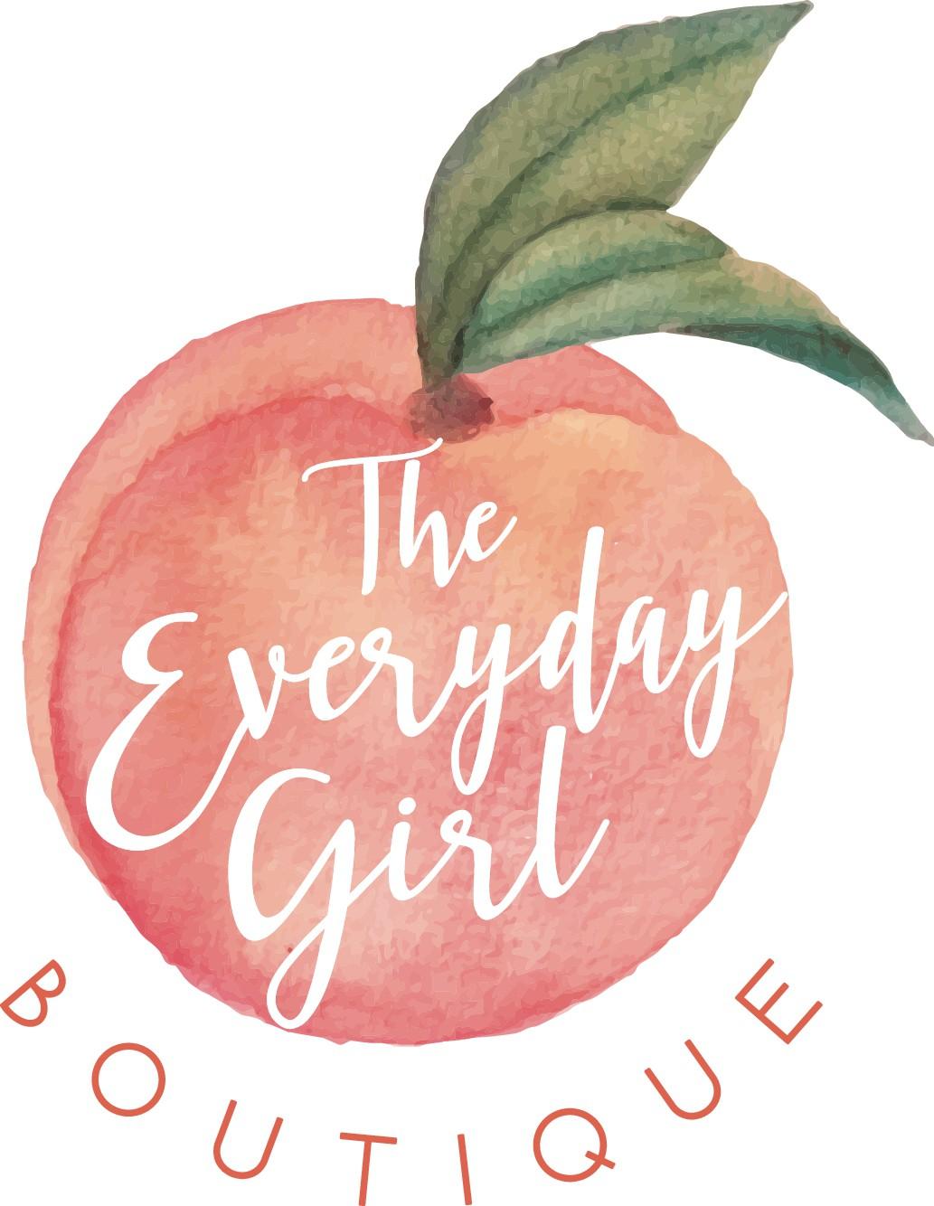 Design a Peach Watercolor Logo & Business Cards for an Online Women's Boutique