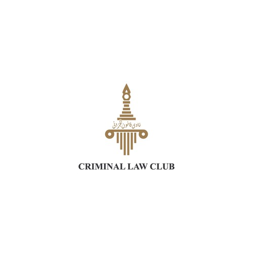 logo concept for Criminal Law Club