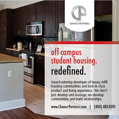 Chance Partners - Awesome Student Housing Print Ad Needed