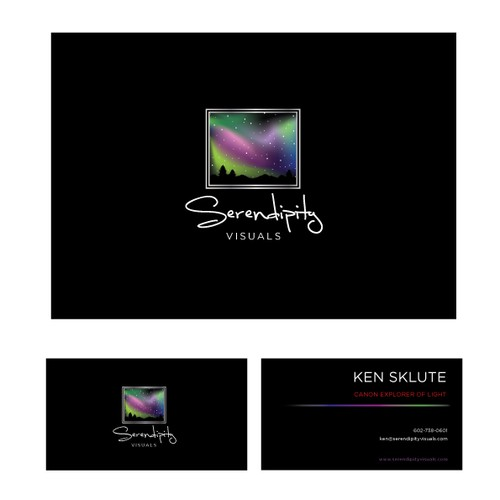 Help Serendipity Visuals with a new logo and business card