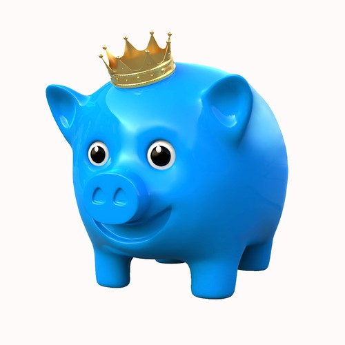 Pig concept Mascot for Bank Promotion