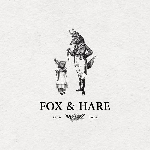 Fox and Hare Logo
