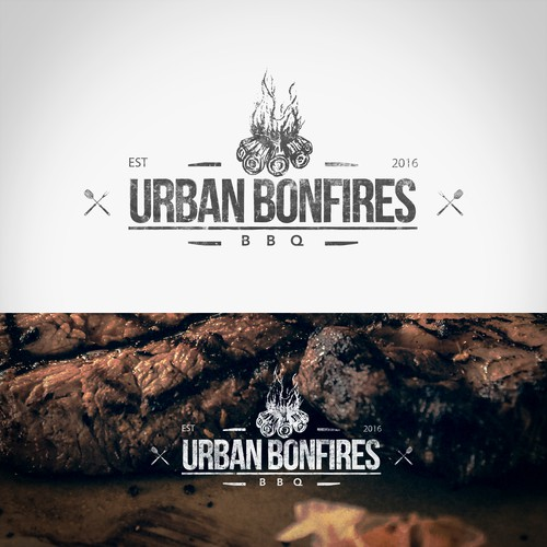 Urban Bonfires Logo Design