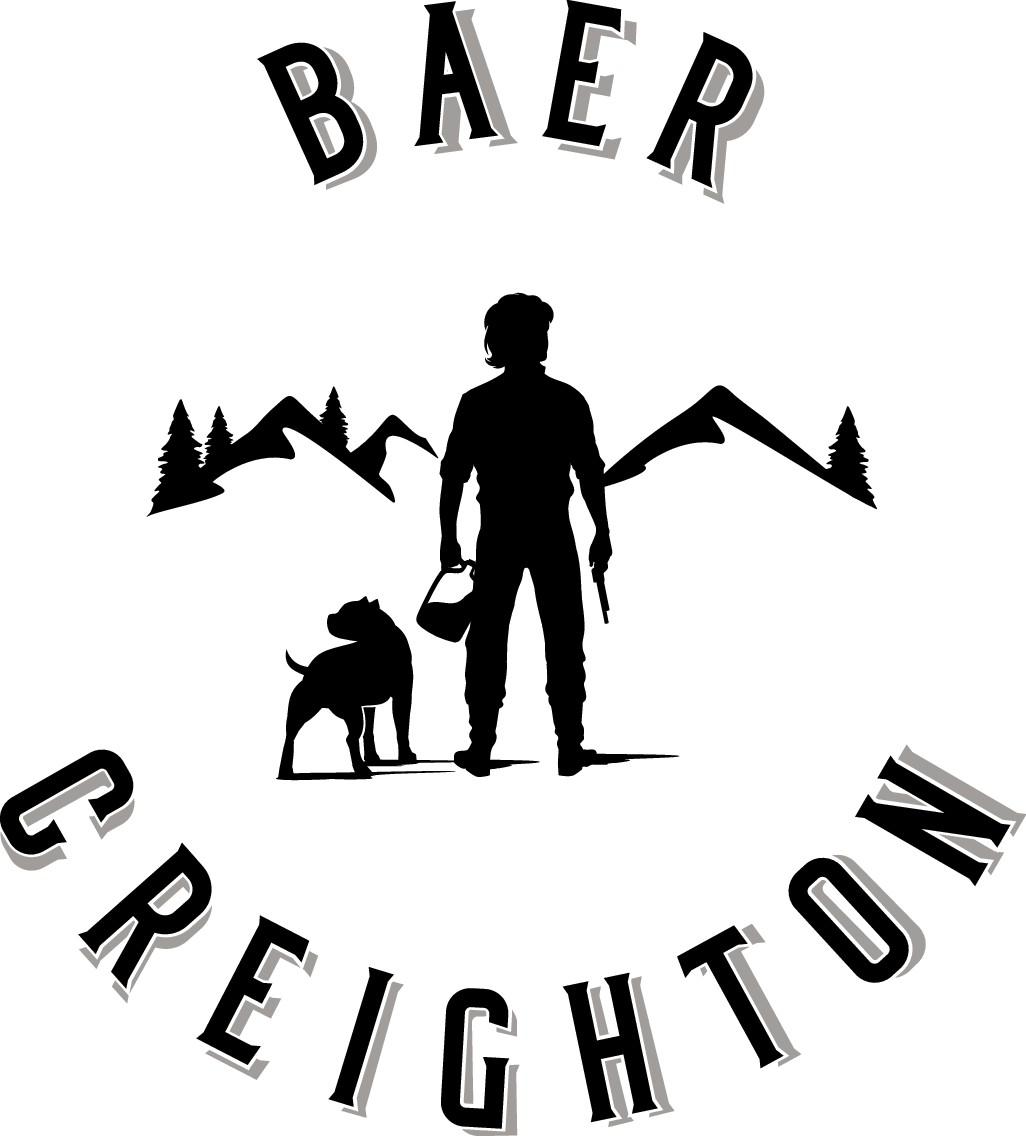 Mountain Man and Dog logo...