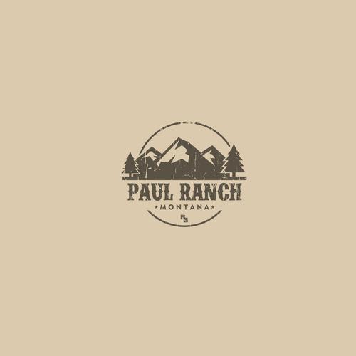 Paul Ranch Logo Design