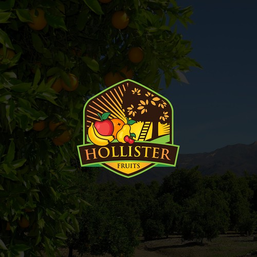 Logo for Hollister Fruits