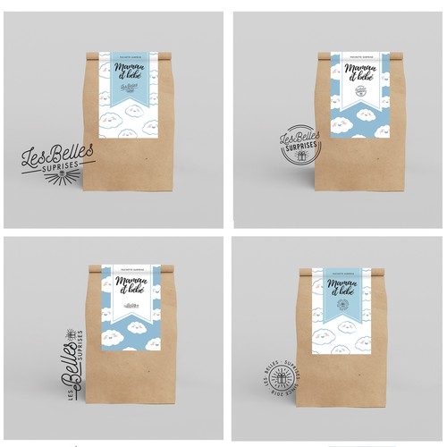 Les Belles Suprises - Bag Label
