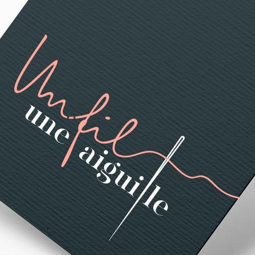 Un fil Une Aiguille - Logo Design