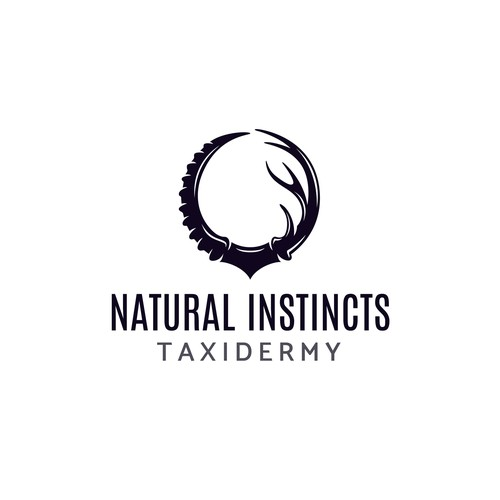 Create a logo for a taxidermy shop specializing in exotic animals!