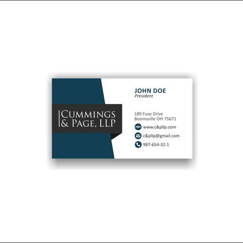 logo and business card proposal