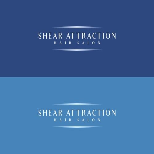 Logo for Shear Attraction Hair Salon