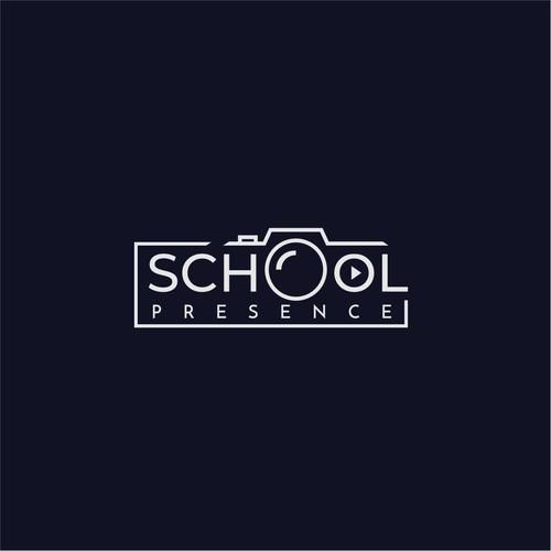 Design an innovative logo for School Presence