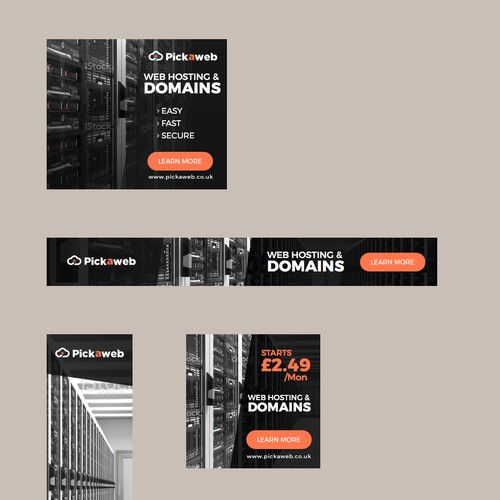 Banners for Pickaweb