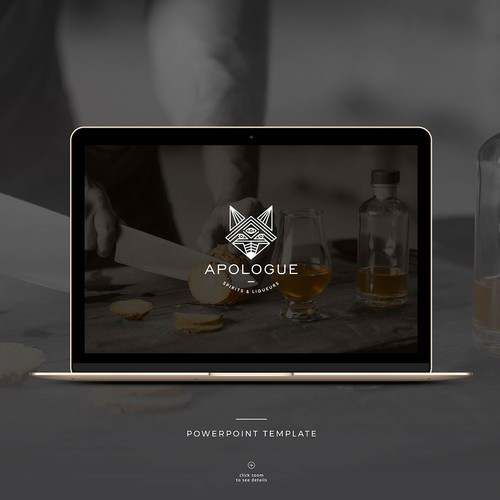 Template for Progressive Spirits Company Featuring Unique Liqueurs