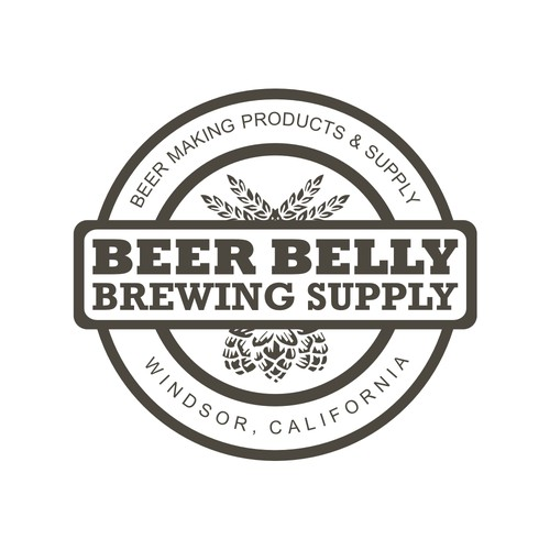 brewing company logo concept