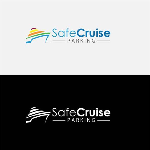 Logo for ship parking company