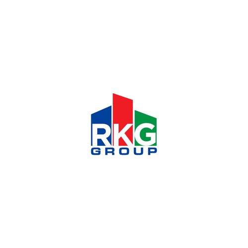 Bold logo concept for RKG group