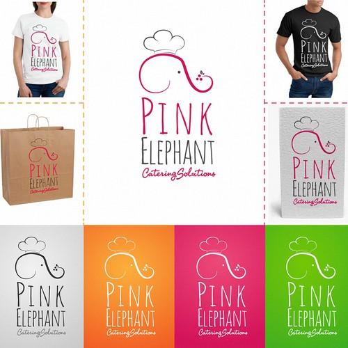 Pink Elephant  needs a new logo
