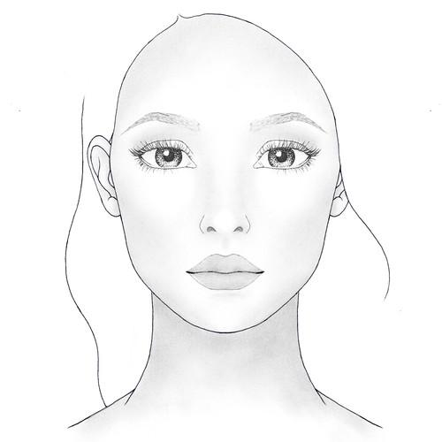Makeup Facechart