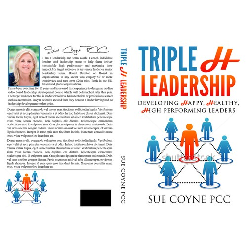 Create an enticing cover for a new book on 21st Century Leadership