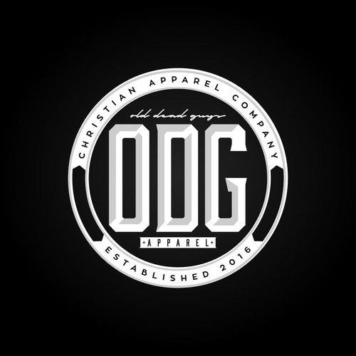 Edgy logo for Christian Hip Hop Apparel Company