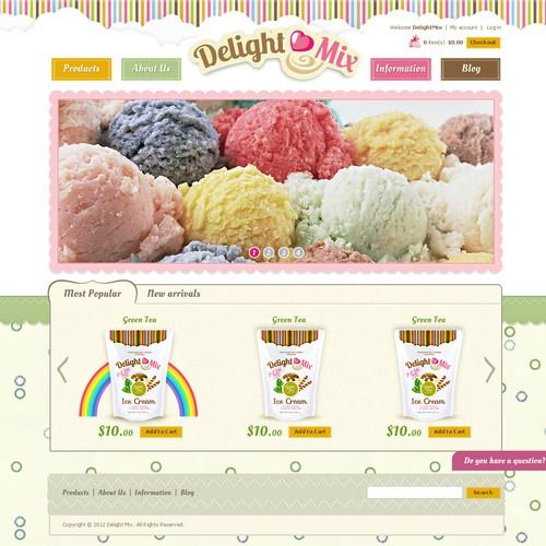 DelightMix needs a new website design