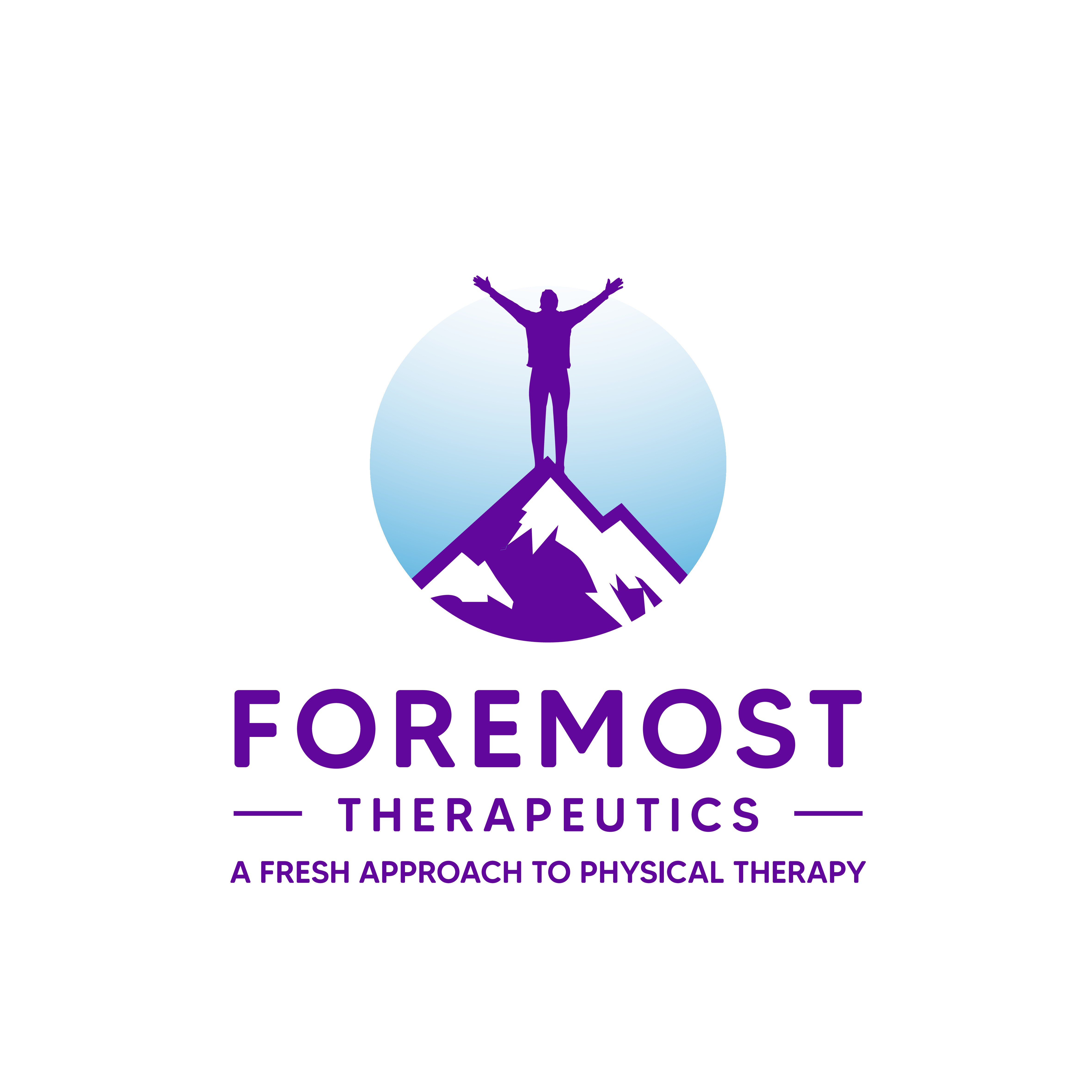 Design a logo that combines medical field of physical therapy AND the warmth/authentic skill of a Coloradan native