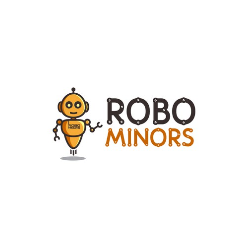 Logo for robotics education company for kids
