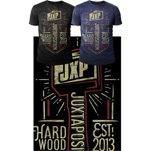 "Tshirt Design for ""JXP"""