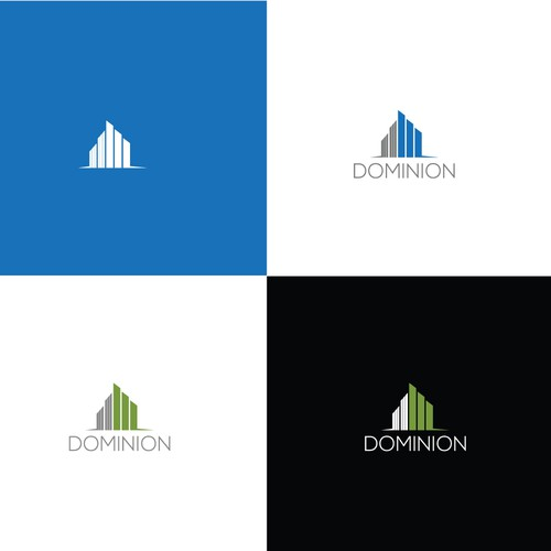 Create the logo for Dominion Realty Group
