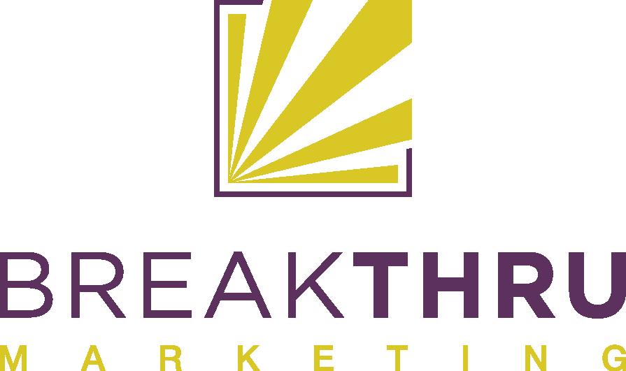 New look for breakthru logo design