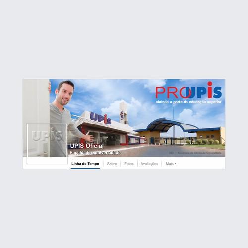 Capa de Facebook - UPIS Faculdade e Universidade