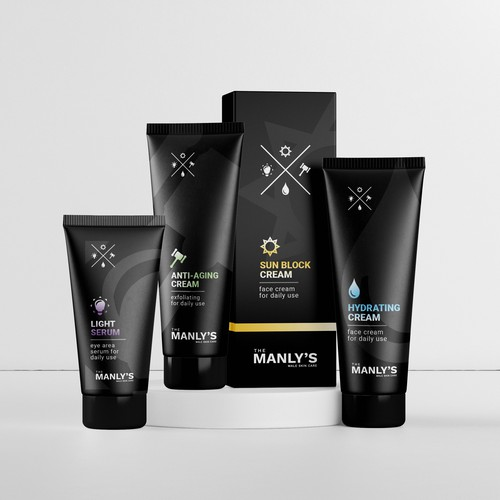 Package Design For Men's Skin Care