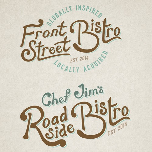 create an eye-catching original design for a restaurant and companion food truck.