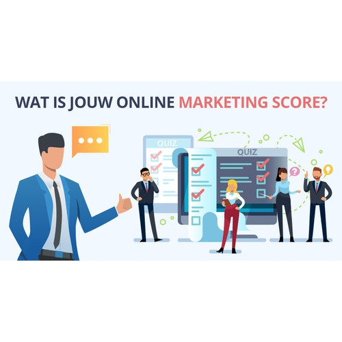 Facebook banner: What's your online marketing score