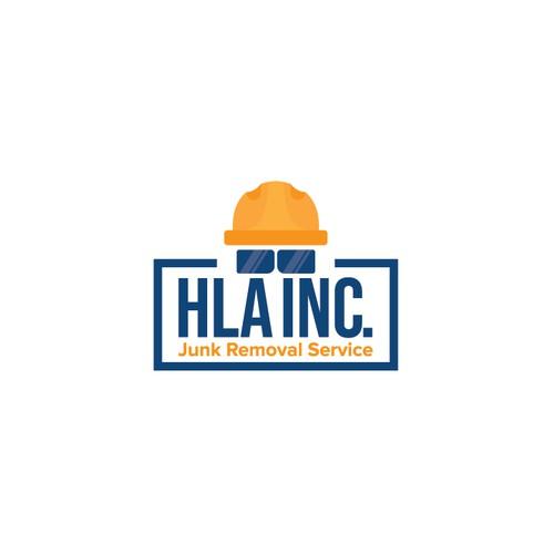 HLA INC. Logo for Hauling Junk Removal Service Los Angelos