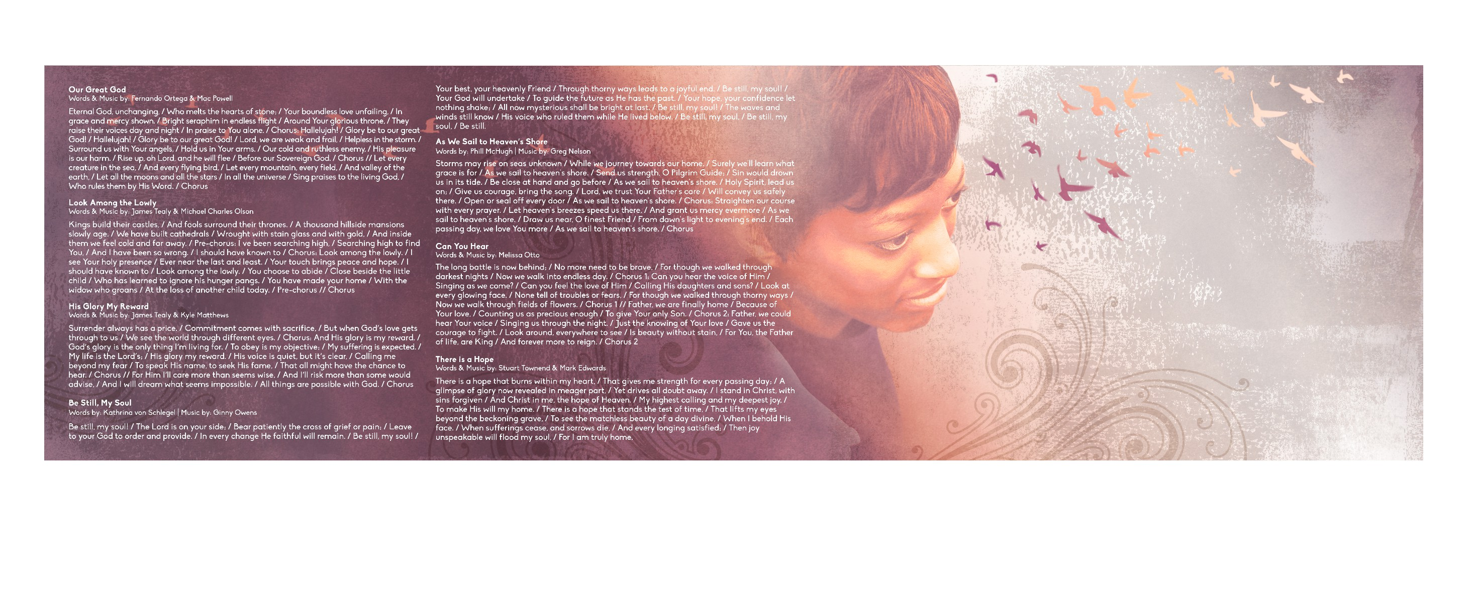 Create a classy, thoughtful, and engaging CD, cover, and packaging for female singer!